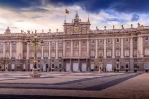 Hostal Edreira en el centro de Madrid, España